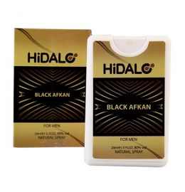 ادوپرفیوم HiDALO BLACK AFKAN MEN