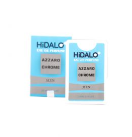 ادوپرفیوم 20 میل HiDALO AZZARO CHROME MEN