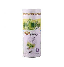 دمنوش لیوانی چای سبز پاپران