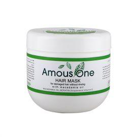 ماسک مو بدون آبکشی مخصوص موهای آسیب دیده آموس وان