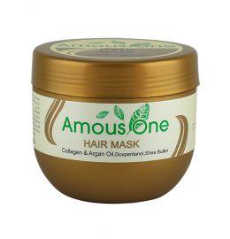 ماسک مو با آبکشی کلاژن و روغن آرگان آموس وان
