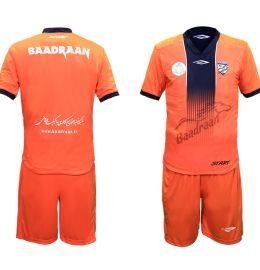 لباس رسمی تیم فوتبال بادران سایز L