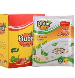 سوپ قارچ و شیر بوبا