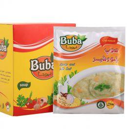 سوپ جو و شیر بوبا