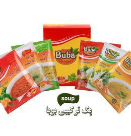 سوپ ترکیبی 6 عددی بوبا