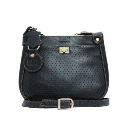 کیف دخترانه جلو چاپی مشکی