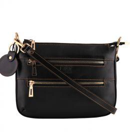 کیف دخترانه مشکی دوزیپ
