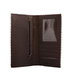 کیف پول کتی مردانه قهوه ای